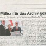 Artikel in der Kölnischen Rundschau