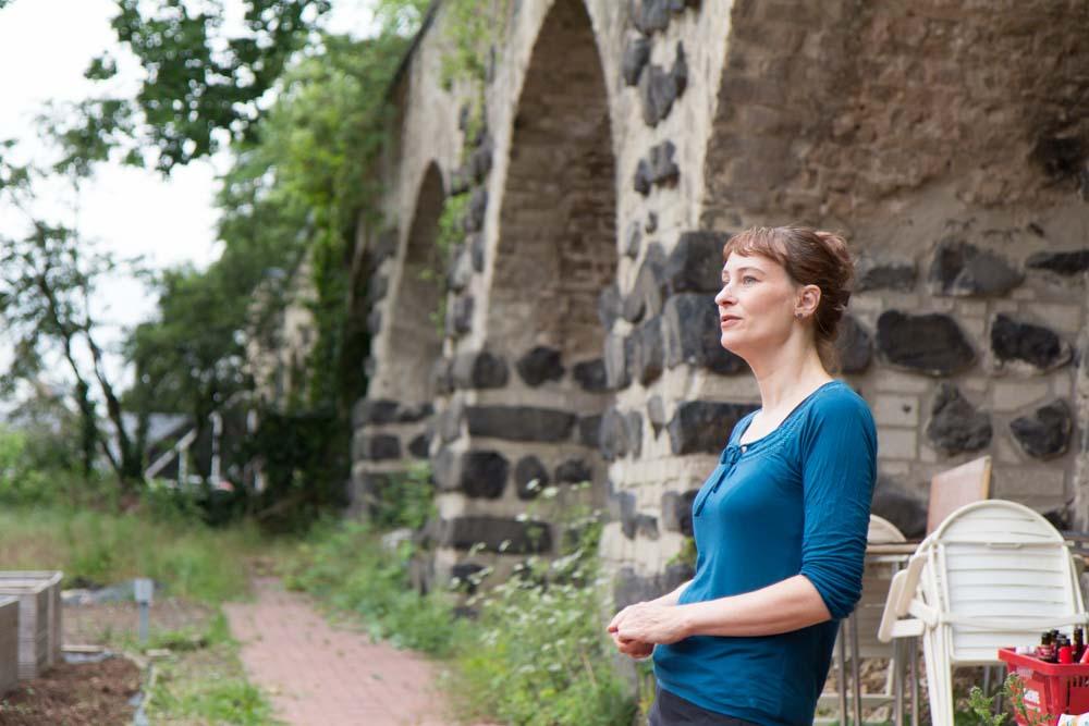 Carolin Pless von der BAN i Schulgarten